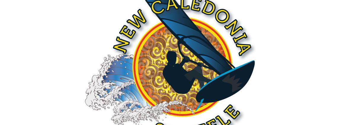 LOGO NEW CALEDONIA SHUFFLE Team New Caledonia - Nouméa FRANCE création de logo graphisme design thomas voge