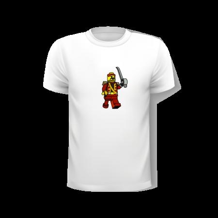 Rcube tee shirt-illustration original-Pirate lego-thomas voge