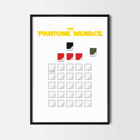 Rcube Cadre-illustration original-Pantone-Menace-thomas voge