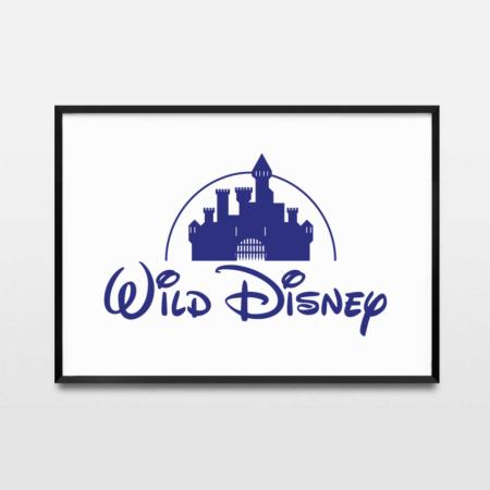Rcube Cadre-illustration original-Wild Disney-thomas voge